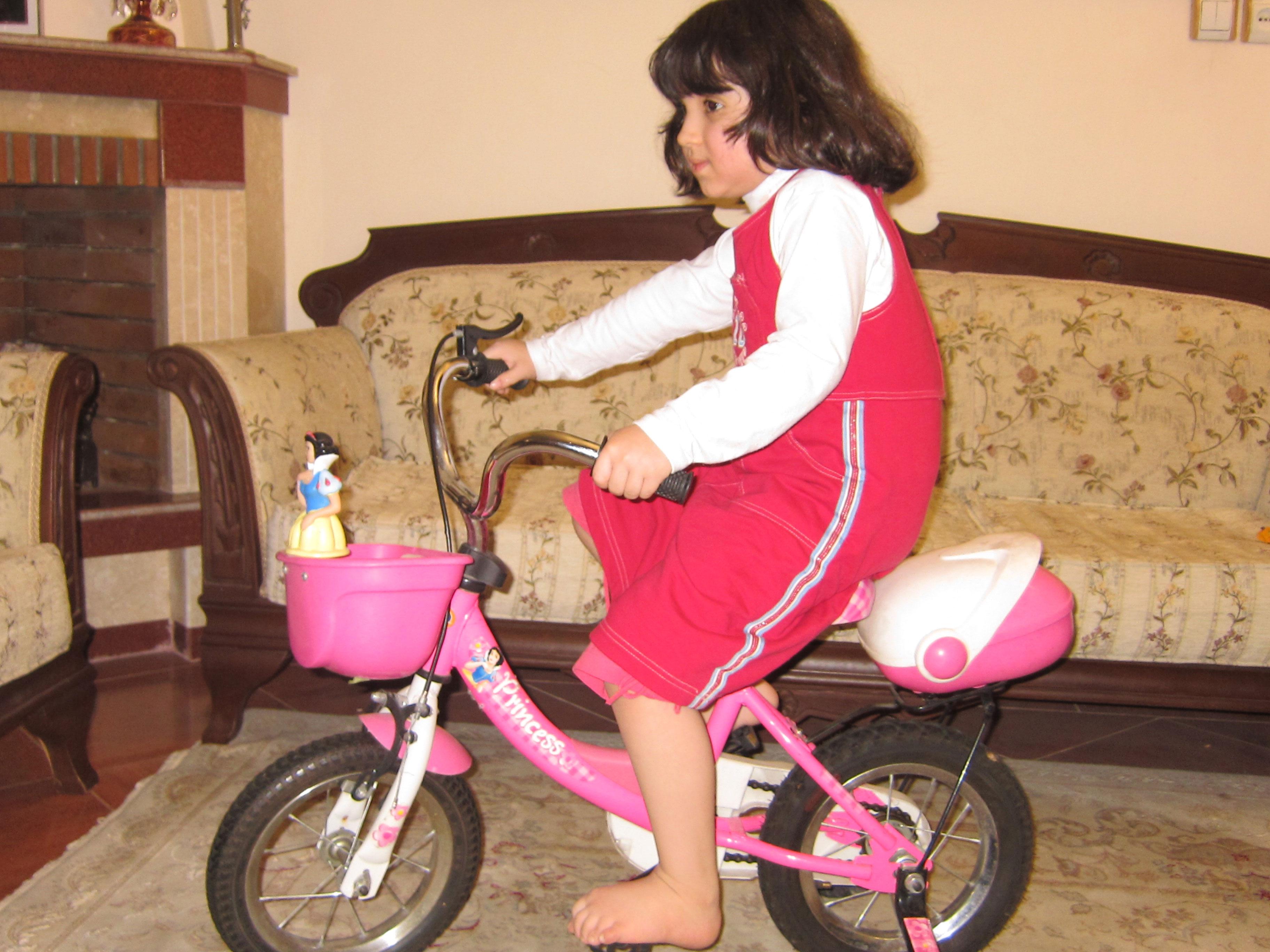 عشق مامان و بابا در حال دوچرخه سواری با جوجه ها