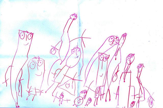 رزی جون عاشق خودتو و همه اون آدمکهای توی نقاشیتم